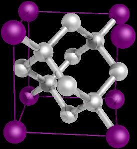 סידור אטומים של יהלום